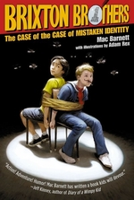 Book cover of BRIXTON BROTHERS CASE OF THE CASE OF THE