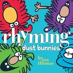 Book cover of RHYMING DUST BUNNIES