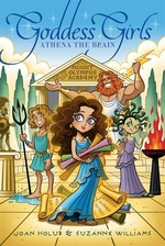 Book cover of GODDESS GIRLS 01 ATHENA THE BRAIN