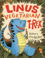 Book cover of LINUS THE VEGETARIAN T REX