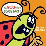 Book cover of CAN YOU MAKE A SCARY FACE