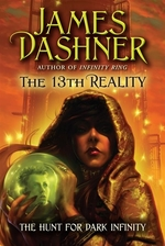Book cover of 13TH REALITY 02 HUNT FOR DARK INFINITY
