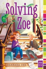 Book cover of SOLVING ZOE