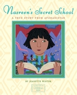 Book cover of NASREEN'S SECRET SCHOOL - TRUE STORY