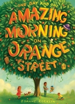 Book cover of 1 DAY & 1 AMAZING MORNING ON ORANGE STRE