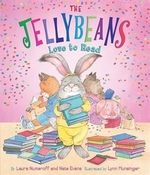 Book cover of JELLYBEANS LOVE TO READ
