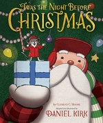 Book cover of 'TWAS THE NIGHT BEFORE CHRISTMAS