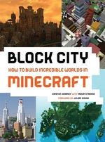 Book cover of BLOCK CITY HT BUILD INCREDIBLE WORLDS IN
