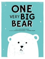 Book cover of 1 VERY BIG BEAR
