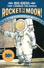 Book cover of ROCKET TO THE MOON - MOON LANDING