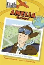 Book cover of 1ST NAMES 02 AMELIA EARHART