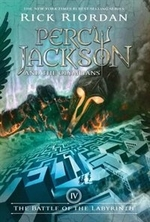 Book cover of PERCY JACKSON 04 BATTLE OF THE LABYRINTH