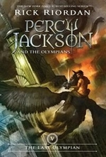 Book cover of PERCY JACKSON 05 LAST OLYMPIAN