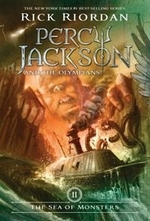 Book cover of PERCY JACKSON 02 SEA OF MONSTERS