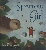 Book cover of SPARROW GIRL