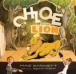Book cover of CHLOE & THE LION