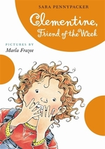 Book cover of CLEMENTINE FRIEND OF THE WEEK