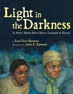 Book cover of LIGHT IN THE DARKNESS