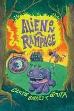 Book cover of ALIEN ON A RAMPAGE