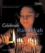 Book cover of CELEBRATE HANUKKAH