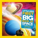 Book cover of 1ST BIG BOOK OF SPACE - NG KIDS