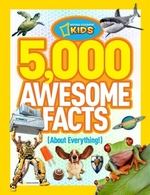 Book cover of 5000 AWESOME FACTS ABOUT EVERYTHING