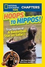 Book cover of NG KIDS CHAPTERS - HOOPS TO HIPPOS