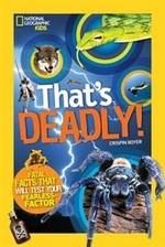 Book cover of THATS DEADLY - FATAL FACTS THAT WILL TES