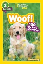 Book cover of NG WOOF 100 FUN FACTS ABOUT DOGS