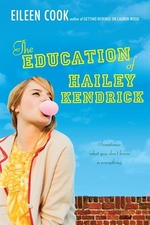 Book cover of EDUCATION OF HAILEY KENDRICK