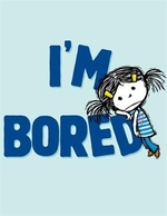 Book cover of I'M BORED