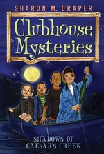 Book cover of CLUBHOUSE MYSTERIES 03 SHADOWS OF CAESAR