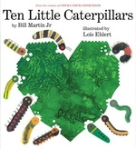 Book cover of 10 LITTLE CATERPILLARS