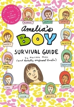 Book cover of AMELIA'S BOY SURVIVAL GUIDE