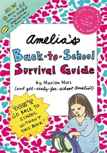 Book cover of AMELIA'S BACK-TO-SCHOOL SURVIVAL GUIDE