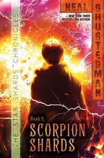 Book cover of SCORPION SHARDS