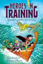 Book cover of HEROES IN TRAINING 02 POSEIDON & THE SEA