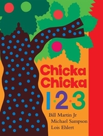 Book cover of CHICKA CHICKA 1 2 3