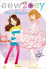 Book cover of SEW ZOEY - ON PINS & NEEDLES