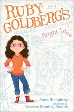 Book cover of RUBY GOLDBERG'S BRIGHT IDEA