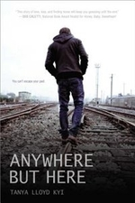 Book cover of ANYWHERE BUT HERE