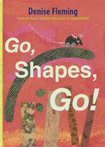 Book cover of GO SHAPES GO