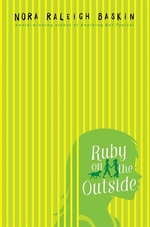 Book cover of RUBY ON THE OUTSIDE