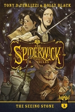 Book cover of SPIDERWICK 02 THE SEEING STONE