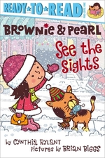 Book cover of BROWNIE & PEARL SEE THE SIGHTS