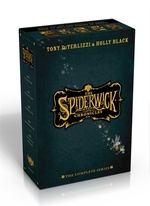 Book cover of SPIDERWICK CHRONICLES COMPLETE SERIES