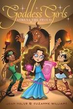 Book cover of GODDESS GIRLS 13 ATHENA THE PROUD