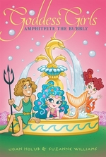 Book cover of GODDESS GIRLS 17 AMPHITRITE THE BUBBLY