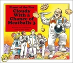 Book cover of CLOUDY WITH A CHANCE OF MEATBALLS 3 - PL