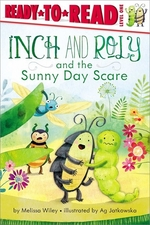 Book cover of INCH & ROLY & THE SUNNY DAY SCARE